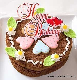 Birthday Cake Images With Name Tarun : Gimtadienio atvirukai - 2. Atvirukai Sveikinimai.lt