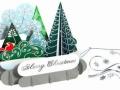 Kalėdiniai atvirukai 111